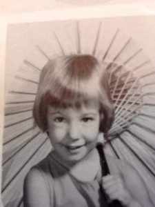 Young me, about four/five